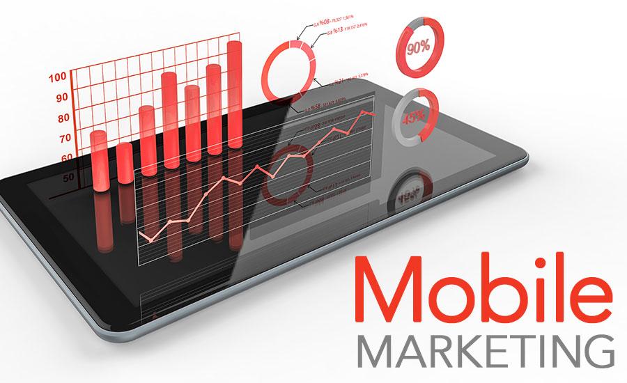téléphone mobile avec un grahique de performance
