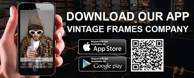 bannière de l application vintage frame